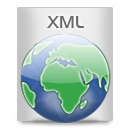 document, xml, file icon