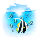 animals, fishes icon