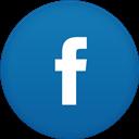 Circle, Fb, Flat icon