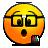 nerd, emote, penholder icon
