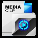 media, cilp icon