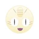 monster, pokemon, go, meowth, cute icon