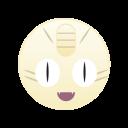 monster, pokemon, go, meowth, cute icon