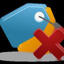 delete, bookmark icon