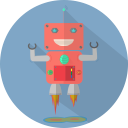 robot expression, mechanical, space, robotic, launch, fun robot, robot, technology, android, mascot, robot chargers, metal icon
