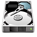 hard disk, hard drive, unmount, hdd icon