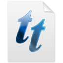 font,tt icon