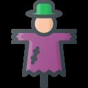 halloween, scarecrow icon