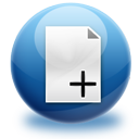 add,file,plus icon