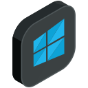 social, media, network, windows, computer, pc icon