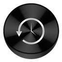 Black, Capsule icon