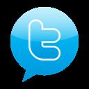 Bubble, Speech, Twitter icon