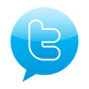 twitter, bubble speech icon
