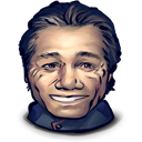 smiling, captain, adama, reason, for, some icon