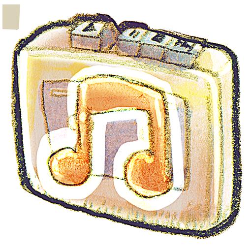 recorder, music icon
