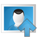 picture arrow up icon
