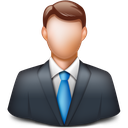 man, person, manager, client, businessman icon