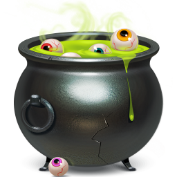 piggybank, cauldron icon