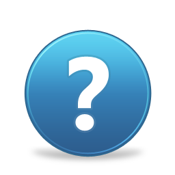 and, help, support, question mark icon