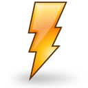gnome, climate, session, weather, power, reboot, lightning icon