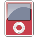 3g, nano, ipod, red icon
