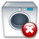 Close, Machine, Washing icon
