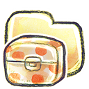 Box, Folder, g icon