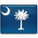 flag, south, carolina icon