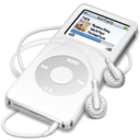 ipod nano white icon