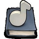 music,book icon