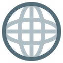 web, internet, browser, planet, global, earth, world icon