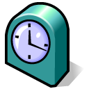 clock, alarm, alarm clock, time, history icon