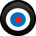 goal, bullseye, practice, target, skill icon