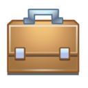 work, briefcase icon