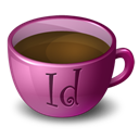 Coffee, Indesign icon
