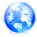 planet, network, internet, browser, world, earth, globe icon