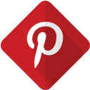 online, logo, pinterest, web, network, internet, social icon