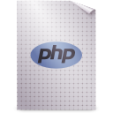 mime, gnome, application, php icon