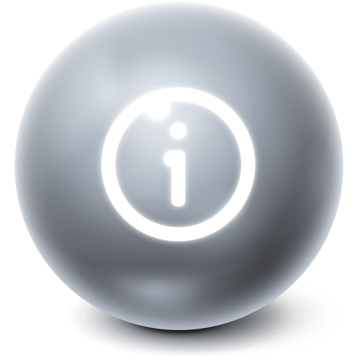about, ball, information, info, bright icon