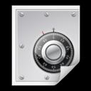 Mimetypes application x pem key icon