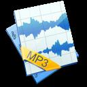 sound, file, mp3 icon