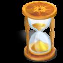 hourglass,wait icon