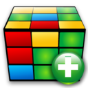 cube,add,plus icon