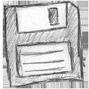 disc, save, floppy icon