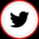 social, brand, tiwtter, logo, media icon