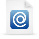 paper, file, document, blue icon