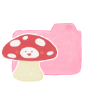 Ak, Candy, Folder, Mushroom icon
