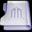 purple, library, reading, read, book icon
