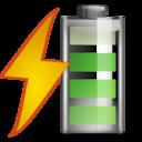 Status battery charging 080 icon