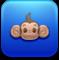 monkeyballop, monkey, animal icon